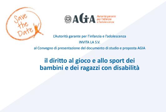 Convegno AGIA – Roma 9 maggio 2019